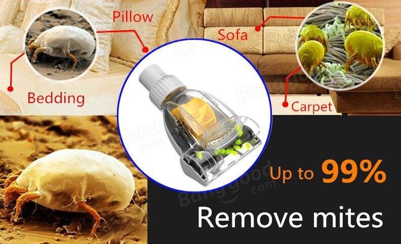 Universal 32mm Vacuum Cleaner Accessories Turbo Brush Vibration Brush Remove Mites Deep Clean Turbo Head