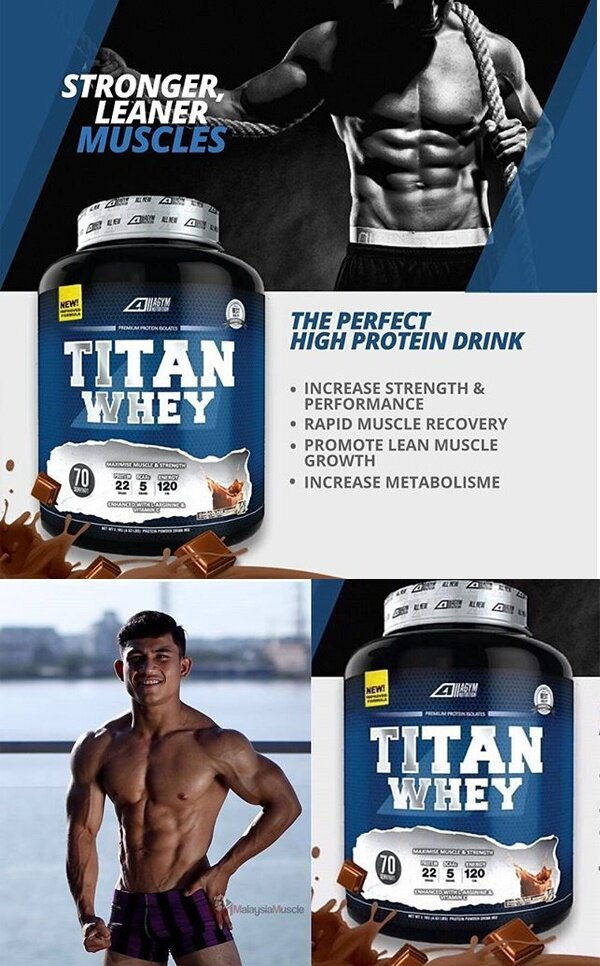 titan whey halal 1kg eco pack 33 servings chocolate