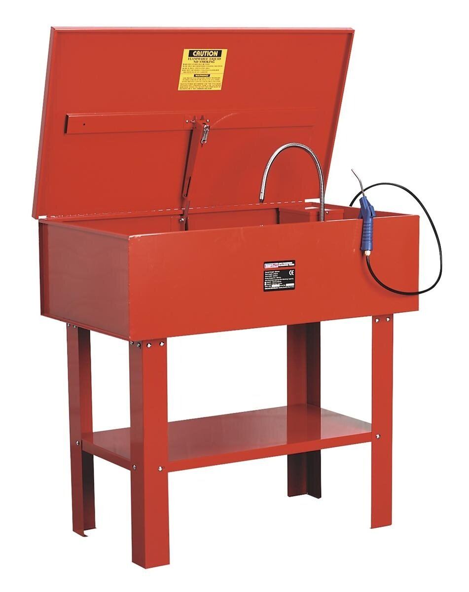 Image result for Sealey Parts Cleaning Tank Air Operated (Brand from U.K)
