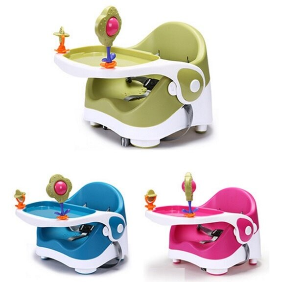 luxury baby booster seat portable baby dining chair and table red lazada malaysia. Black Bedroom Furniture Sets. Home Design Ideas
