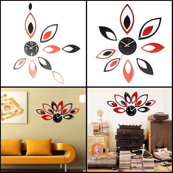 Fashion Modern Art Decoration Easy to install and remove the sticker. Waterproof EVA foam material, use eco friendly material. DIY distance from different ...