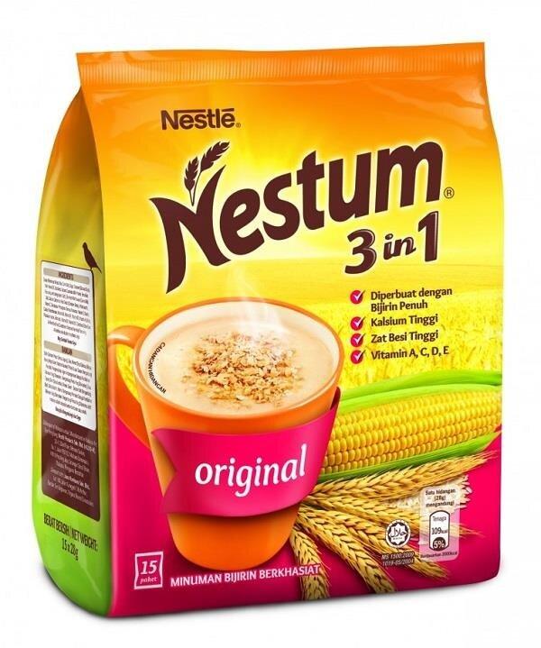 Nestum 3 in 1 Original (15x28g / 8x28 Stick Pouch)
