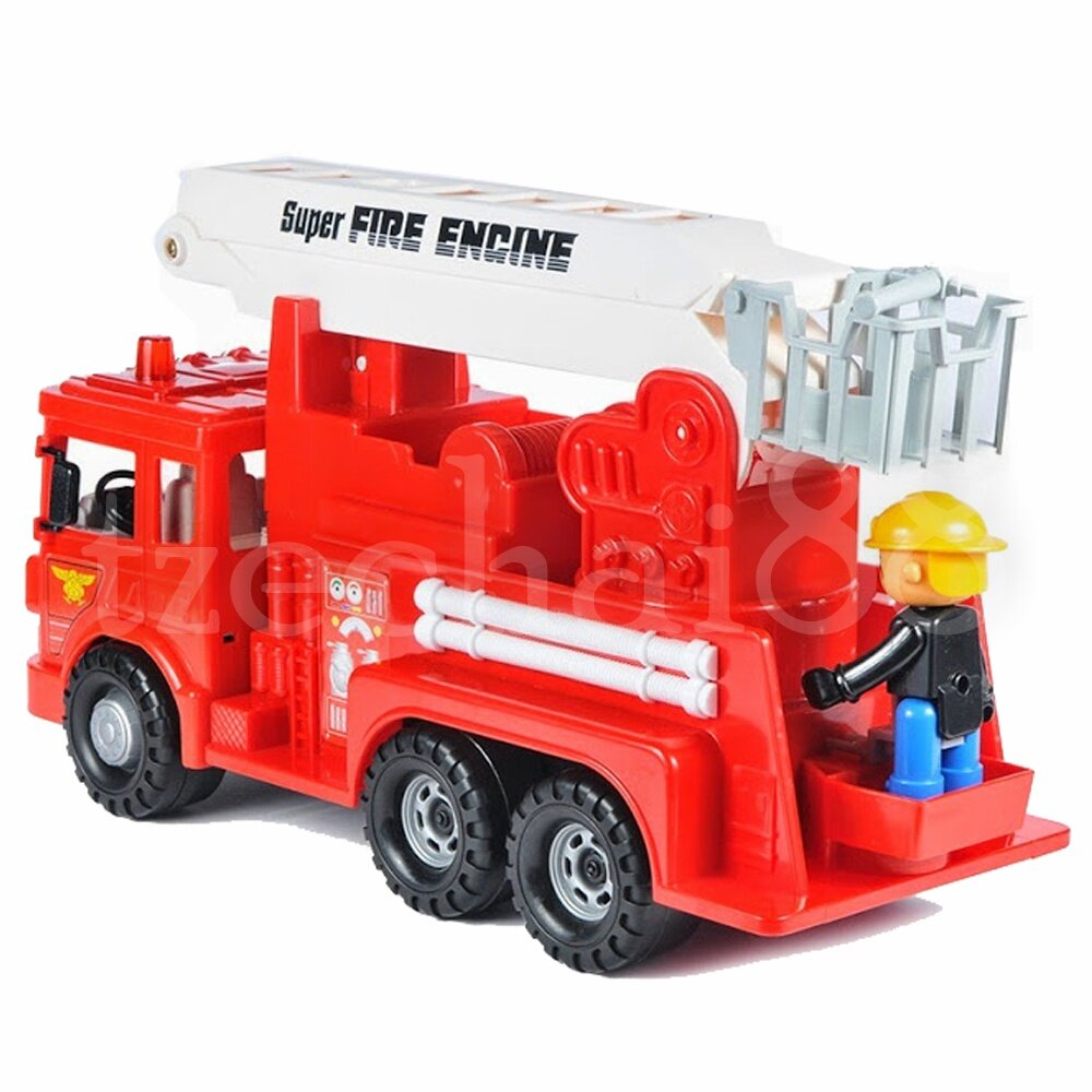 Daesung Fire Engine Fightfighter truck Friction 35 * 13 * 19cm Generic made in Korea Model To