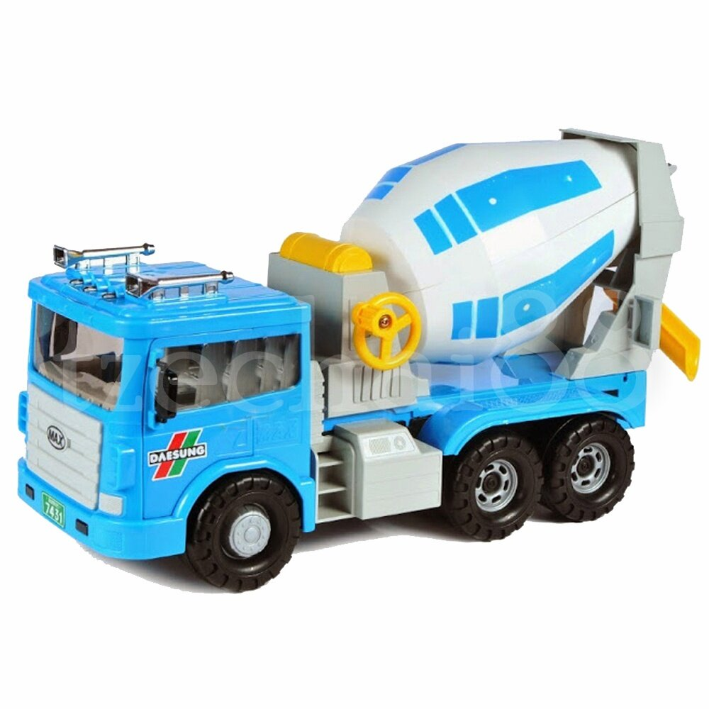 Daesung Door Openable Concrete Mixing Truck Friction Toys Korea made 35 * 13 * 18 cm Model generic genuine Authentic product