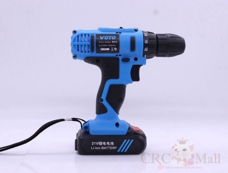 GERMANY VOTO East Tools 21V Cordless Drill Electric ...