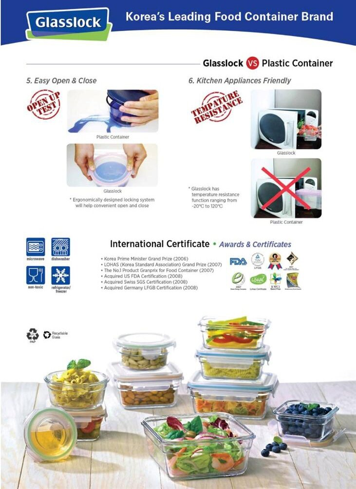 Gl Food Storage Containerspremium 5 Gal Container 20 Pack P9gl00fg The