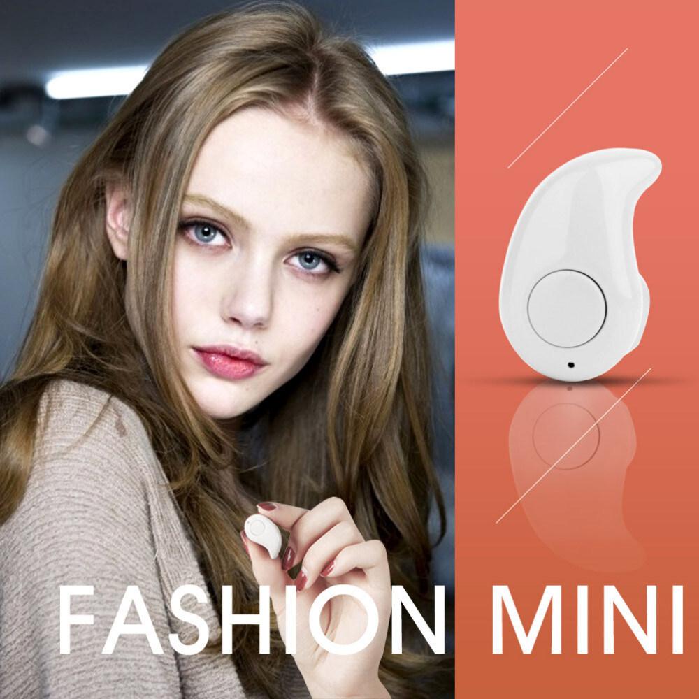 High Quality Mini Style Wireless Bluetooth Headphone In-ear. Earphone Phone Headset. image image image