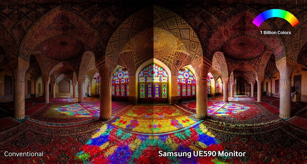 Experience unbeatable picture quality with razor sharp resolution and billions of colours