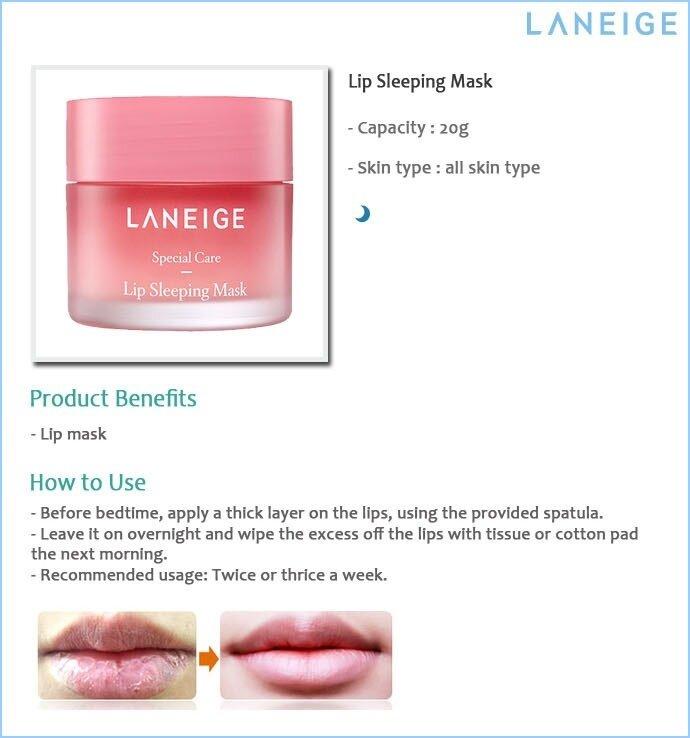 Image result for Laneige Lip Sleeping Mask 20g