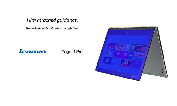 HealingShield Lenovo Yoga 3 Pro Matte Screen Protector(OVERSEAS)