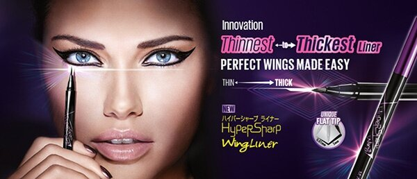 Maybelline Hypersharp Wing Eye Liner Hitam Source WHY YOU LL LOVE IT .