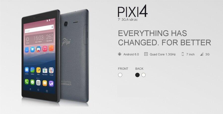 "Alcatel Pixi 4 (7"") / 9003X (1GB/8GB) Original Alcatel Malaysia Set"