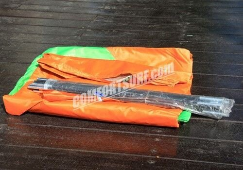 New CP011 3/4 Persons Outdoor Double Layer With Extra Vestibules / Hall + Waterproof Camping Tent + Free Carry Bag