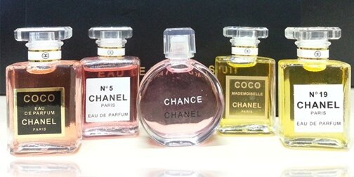 Chanel Travel Perfume Set Of 5 Premium Gift Box Clearance Sale