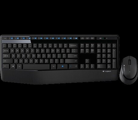 Wireless Combo MK345 mouse and keyboard product top shot