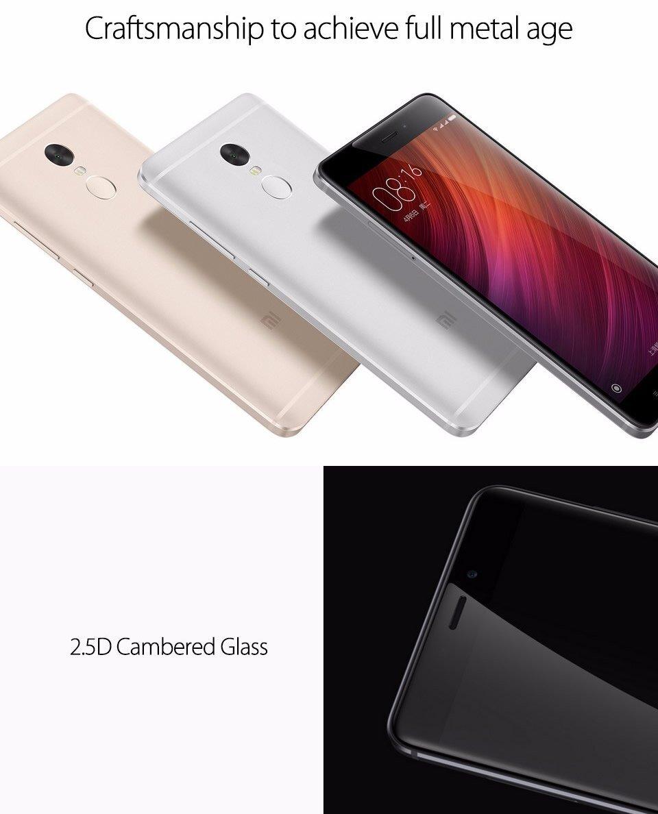 Xiaomi Redmi Note 4 4X 4GB RAM 64GB ROM Dual Sim LTE