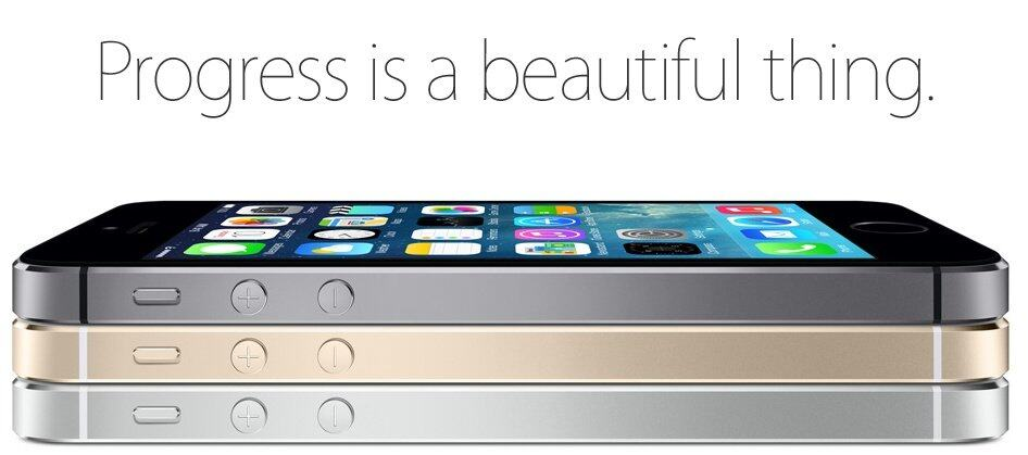 iphone 5s gold. in a mere 7.6mm thin and 112g light, engineers still manages to compress all those state-of-art technology into that sexy form of the iphone 5s. iphone 5s gold