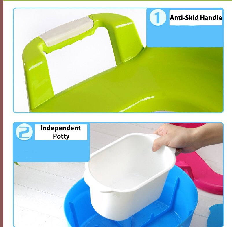 how to clean baby potty chair