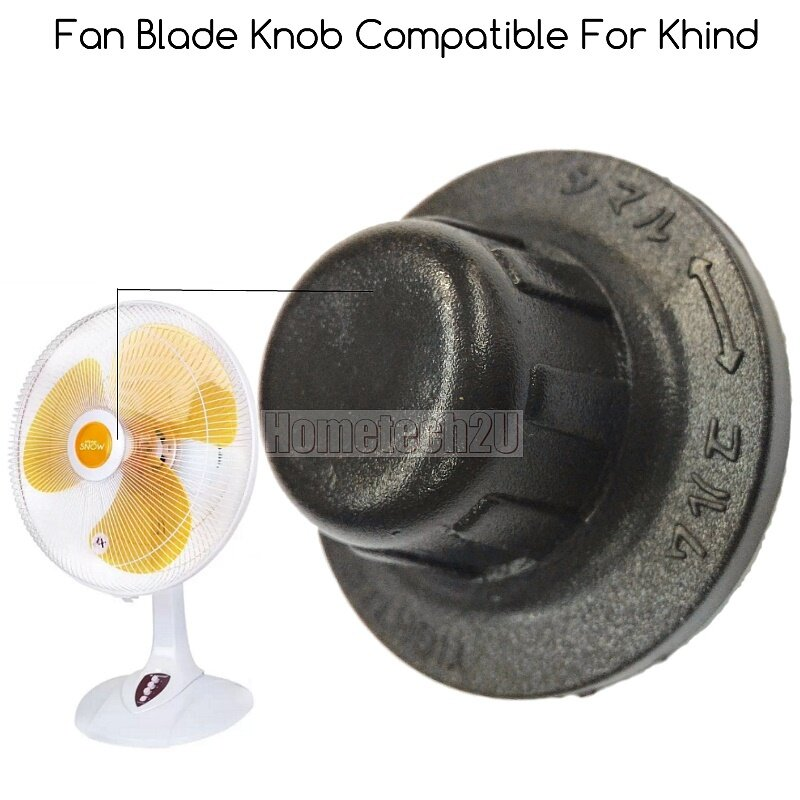 Table Fans Parts : Table fan blade lock stand knob spare part for khind