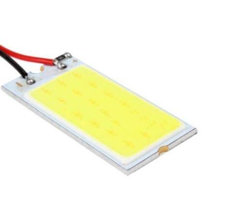 5-x-18-LED-COB-Light-Dome-White-Plate-Lamp-Interior-Panel-Car-Bulb-T10-Festoon