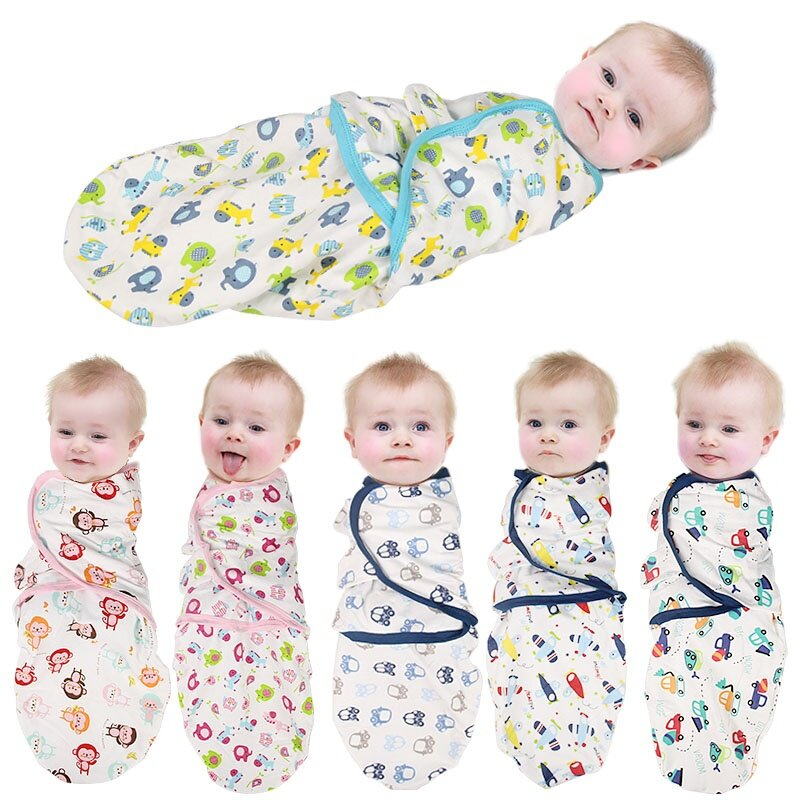 Swaddling helps reduce loose bedding in crib and helps keep baby safely on