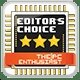 The PC Enthusiast Editor's Choice