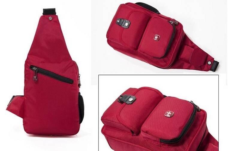 Swiss Gear Sling Bag 2 Messenger Bag Swissgear (Black) | Lazada ...