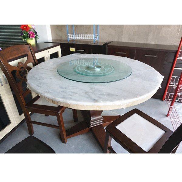 Cm Round Glass Dining Table