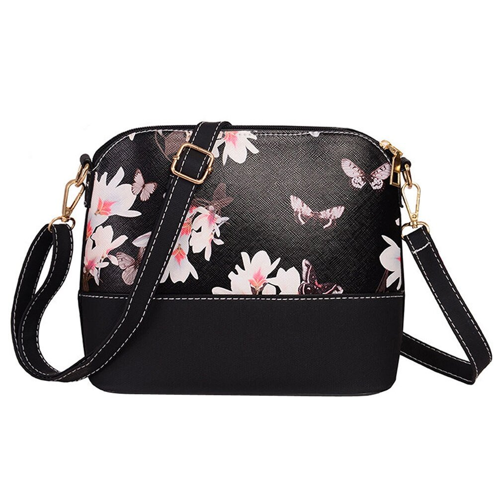 Home; Niceeshop Flower Pattern Leather Messenger Bag Crossbody Shoulder Bags For Women Flower. to go shipping or hanging around on the street or enjoying a ...