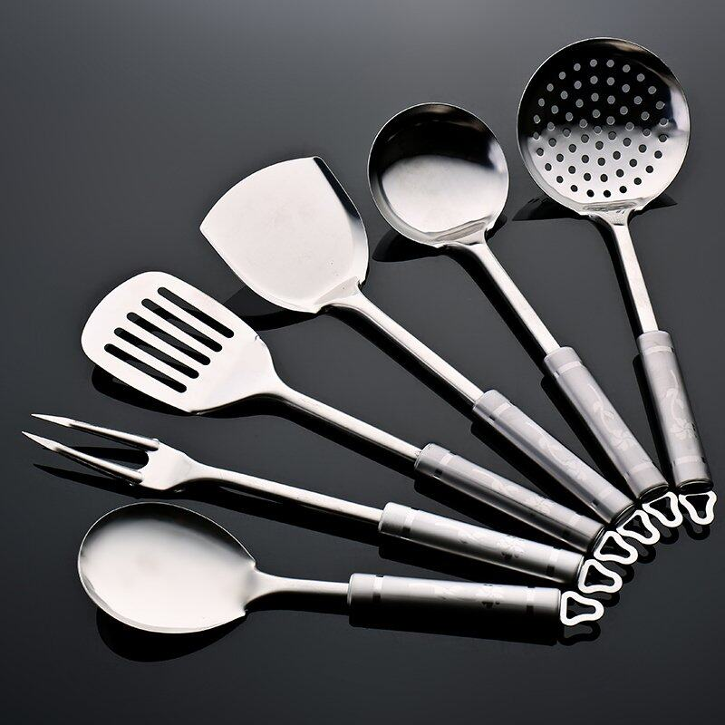 6pcs stainless steel kitchen cookware utensil tools set for Kitchen tool set of 6pcs sj