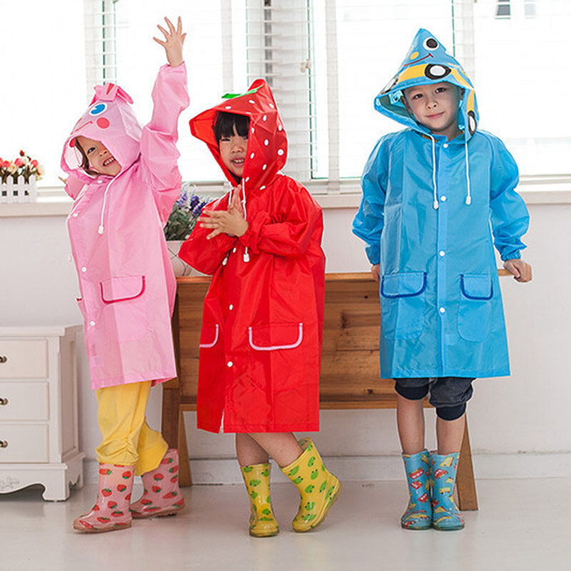 ADORABLE- Your child will look adorable in the Cloudnine froggy raincoat! The attached hood has frog eyes for a full frog look😊 SUPER COMFORTABLE- This amazing coat is made from a special polyester which is comfortable, breathable and waterproof!Reviews: