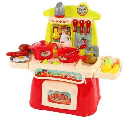 Cook happy kitchen playset pink lazada malaysia for Kitchen set lazada