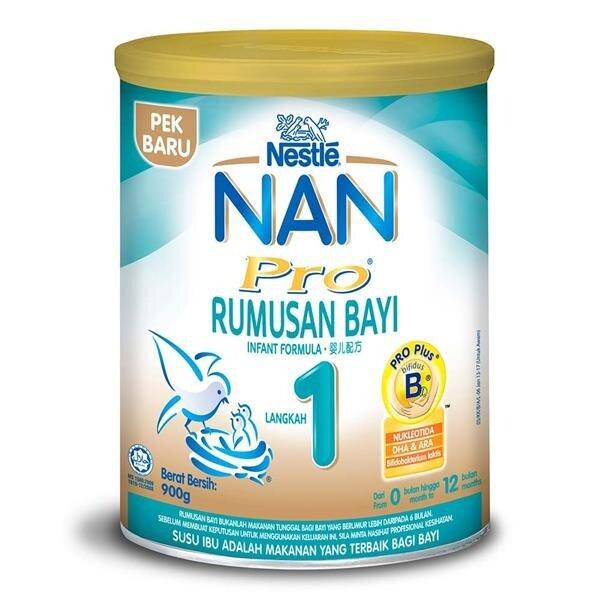*NAN PRO 1 ( 900g / 2x350g / 350g)