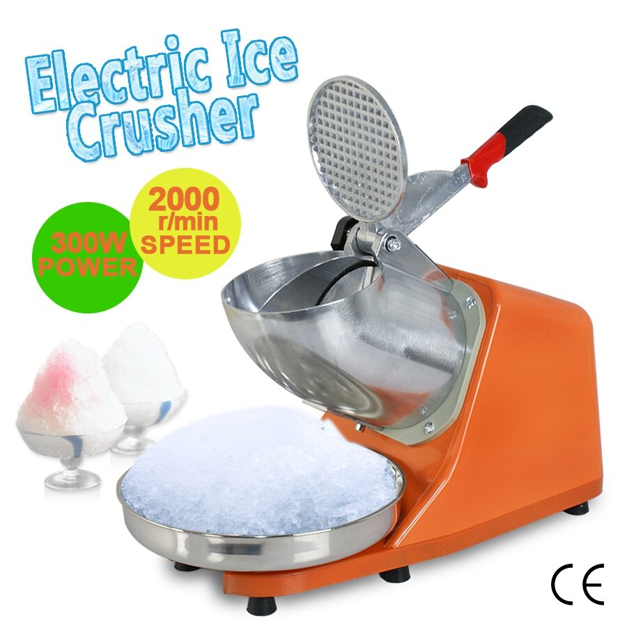 Electric Ice Shaver Ice Crusher Machine(Double Blade) | Lazada