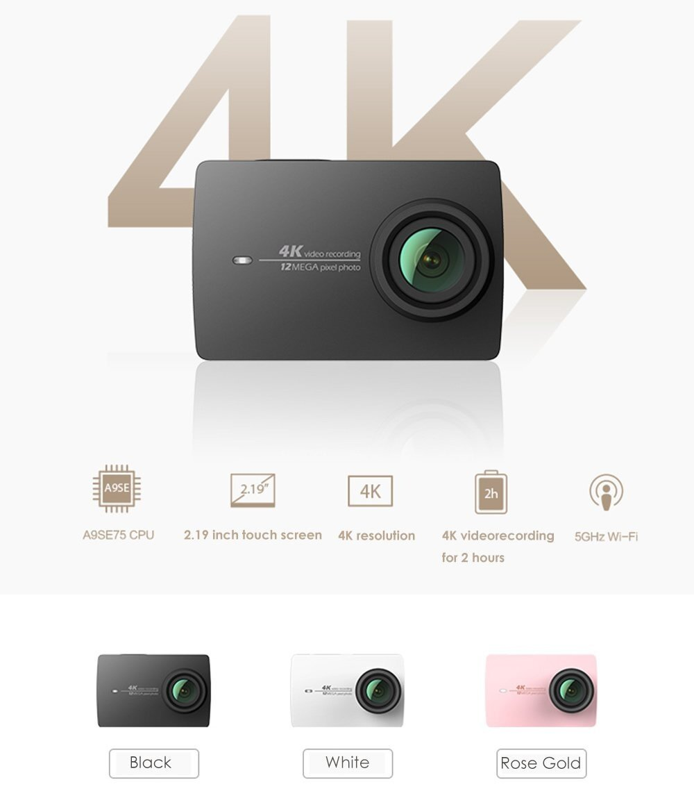 Xiaomi Yi II 4K Action Camera