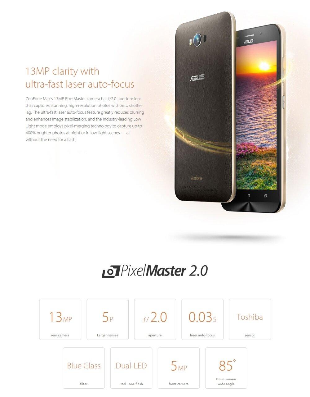 Asus Zenfone Max 55 2gb 16gb Zc550kl Black Malaysia 2 32gb Image
