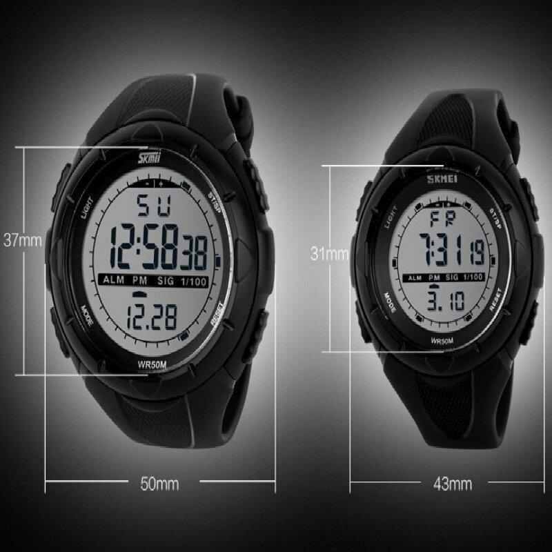 Skmei 1025 Digital Watch (Black) | Lazada