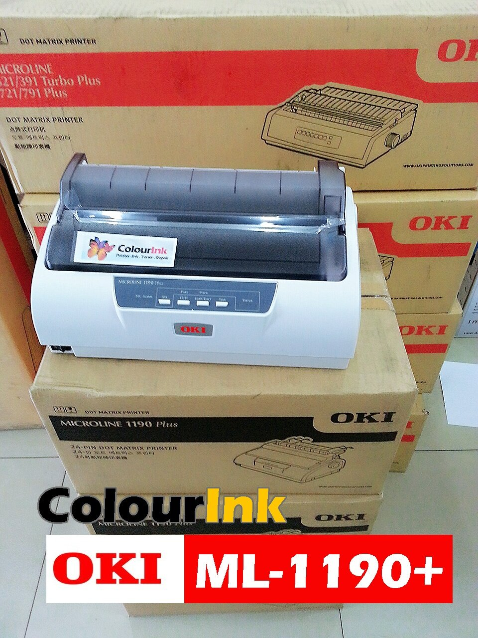 oki microline ml1190 plus dot matrix printer print up 4. Black Bedroom Furniture Sets. Home Design Ideas