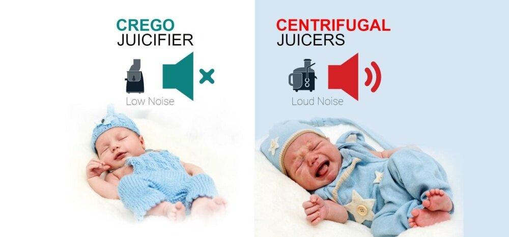 Crego Slow Juicer Review : Crego Silent Swirl Juicifier - Slow Juicer, Masticating Juicer (Blissful Red) Lazada