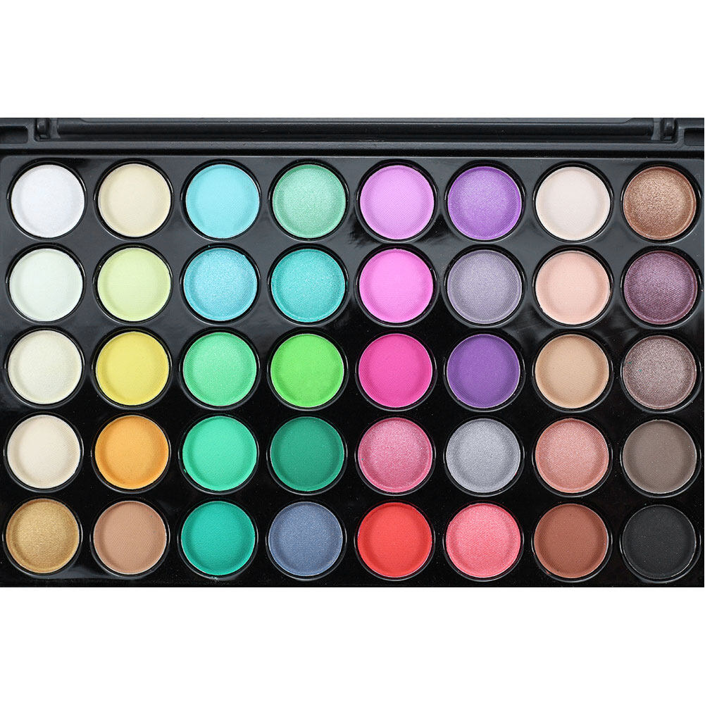 40 Colors Matte Luminous Eyeshadow Palette Cosmetic Eye ...