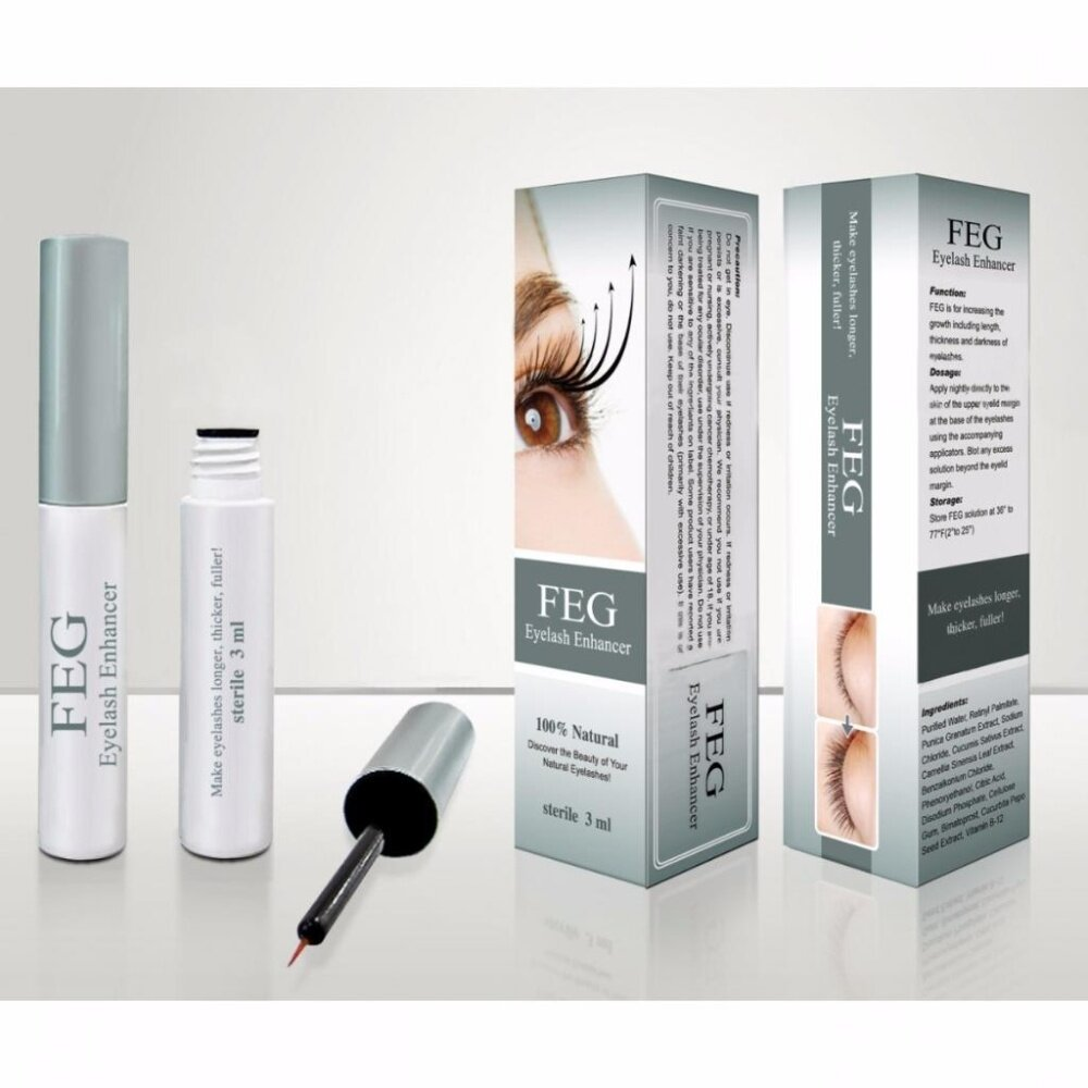 ab4a0601e2c FEG can activate dormant hair follicle germ tissue, then promote rapid  growth of eyelashes. The eyelashes can get longer, more thick and bushy  after 20 ...