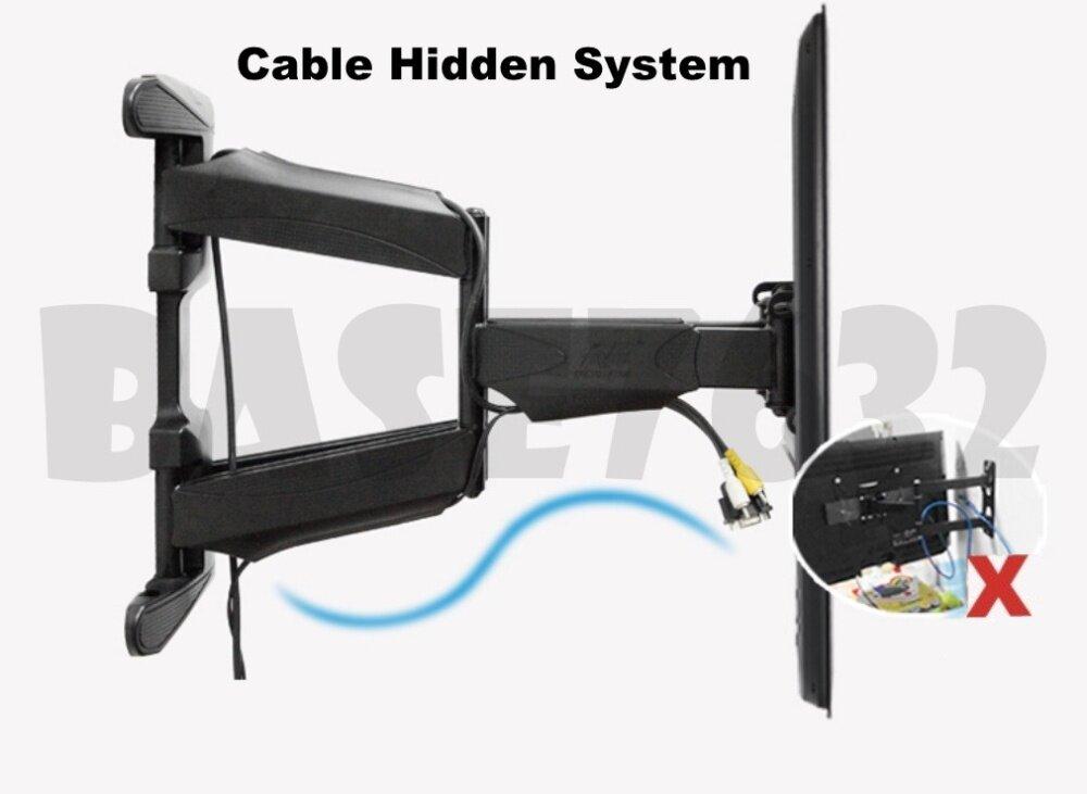 w cable cover nb 32 to 60 inch tilt tv wall bracket holder mount s60 757 l400 df600 1862 1. Black Bedroom Furniture Sets. Home Design Ideas