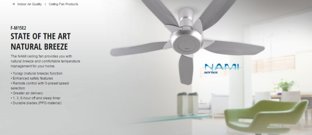 Ceiling Fans Create A Strong Airflow And Also Aid The Circulation Of Cool Air From Conditioning Systems Panasonic Fan Combine Innovative