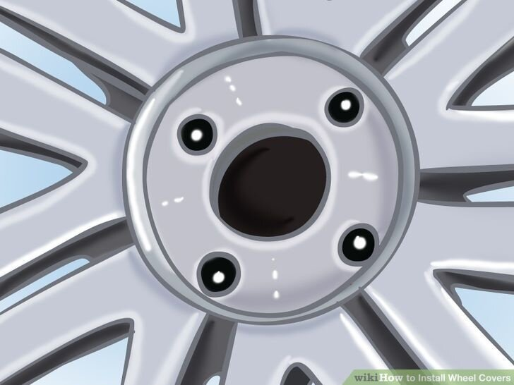 Image titled Install a Wheel Cover Step 3