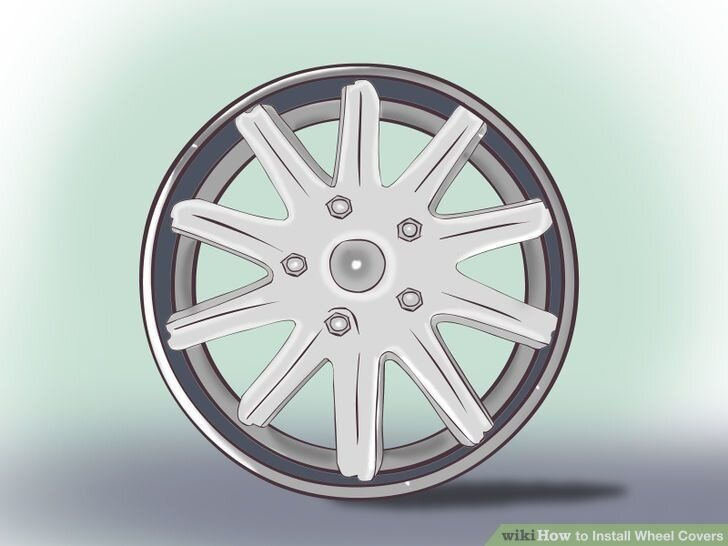 Image titled Install a Wheel Cover Step 2