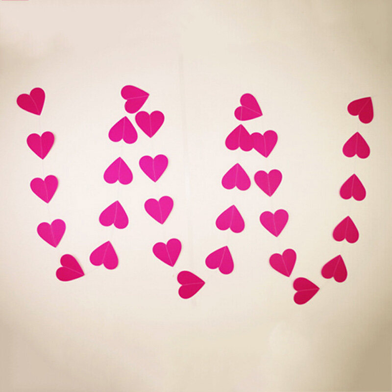 Heart Bunting Banner Garland Wedding Baby Shower Birthday Party ... - image. Source