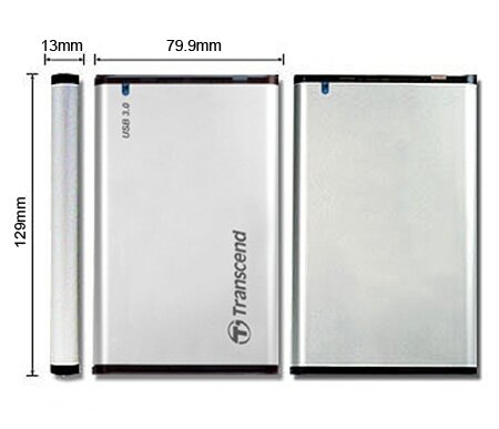 Transcend USB 3.0 External Enclosure