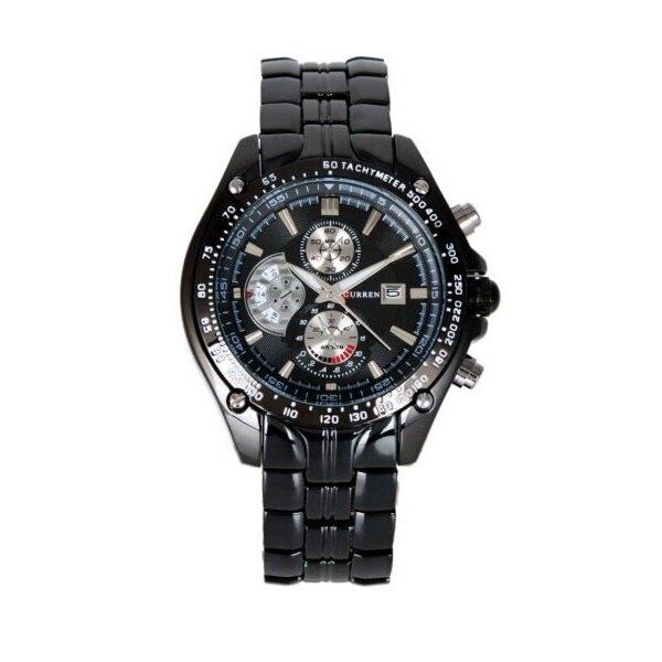 Curren 8083 Men 39 S Black Stainless Steel Strap Watch Black