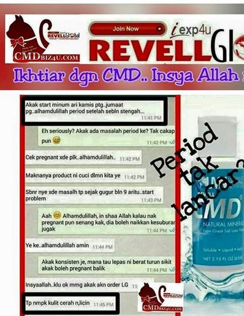 cmd revell concentrated mineral drop 120ml lazada