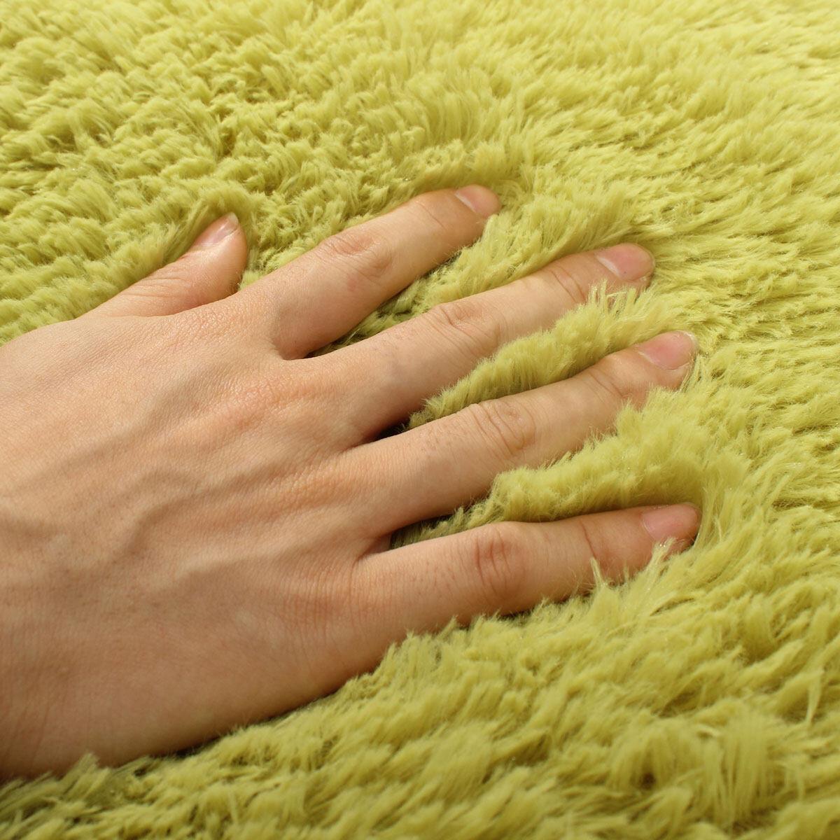 Generic Shaggy Anti-skid Carpets Rugs Floor Mat/Cover 80x120cm Grass Green @ Best Price Online | Jumia Kenya